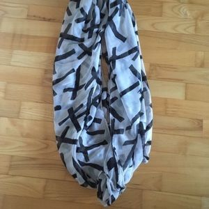 $5 add on-Forever 21 cross infinity scarf